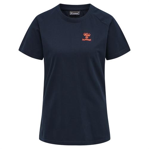Hummel - hmlACTION Cotton, Damen T-Shirt